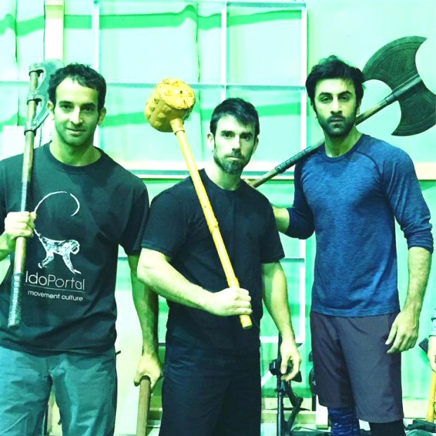 Leaked! Ranbir Kapoor looks fierce and ready for a kill on the sets of Bramhastra