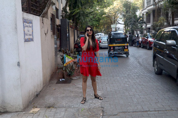 Pooja Hegde spotted at Maddock Office