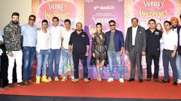 Pulkit Samrat, Kriti Kharbanda and others snapped at Veere Ki Wedding trailer launch