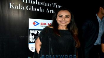 Rani Mukerji, Vivek Oberoi and Emraan Hashmi attend Kala Ghoda Arts Festival 2018