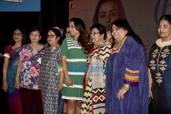 Rani Mukerji launches the song 'Oye Hichki' from Hichki at her alma mater Maneckji Cooper in Mumbai
