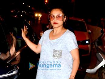 Rani Mukerji snapped at Bandra
