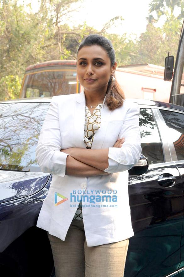 Rani Mukerji snapped promoting Hichki