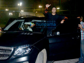 Ranveer Singh snapped at a football ground in Bandra