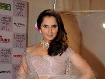 Sania Mirza snapped attending the Lakme Fashion Week 2018