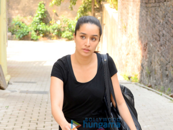 Shraddha Kapoor spotted after workout outside her gym
