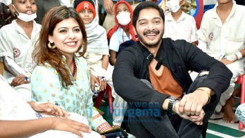 Shreyas Talpade and Deepti Talpade celebrate Valentine's Day with kids of Tata Memorial Hospital, Mumbai