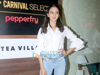 Sidharth Malhotra attends the launch of Carnival Cinema Lounge in Andheri