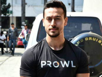 Tiger Shroff snapped at an event to preview their active lifestyle brand