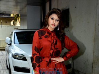 Urvashi Rautela snapped during a photo shoot