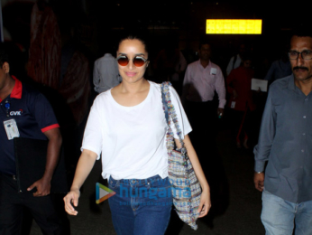 Varun Dhawan, Shraddha Kapoor and Anushka Sharma snapped at the airport