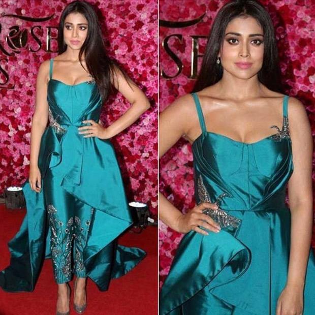 Fashion Face Off: Shriya Saran in Rajat Tandri ensemble