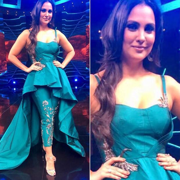 Fashion Face Off: Lara Dutta Bhupathi in Rajat Tandri ensemble