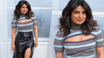 A plunge here, a thigh-high slit there and loads of oomph – This is how Priyanka Chopra rolls post sickness