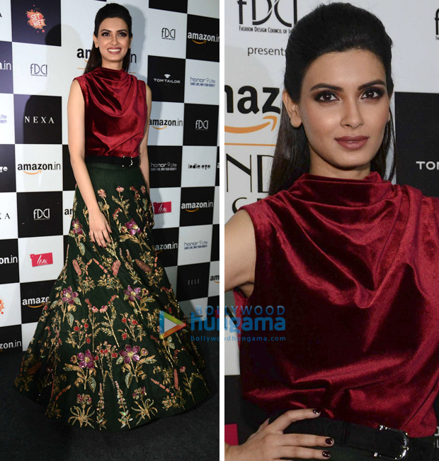 Amazon India Fashion Week Autumn Winter 2018: Diana Penty for Shamal and Bhumika