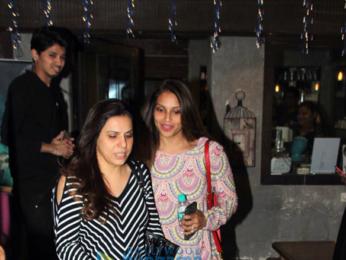 Bipasha Basu snapped at Hakim Aalim's salon