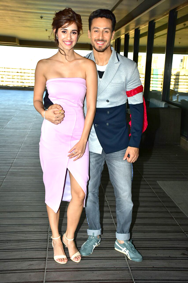 Disha Patani and Tiger Shroff make a handsome pair for Baaghi 2 promotions
