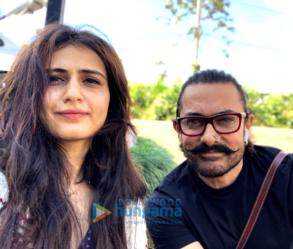 Fatima Sana Shaikh calls Aamir Khan 'tauji' on his 53rd birthday; shares an old picture with her brother