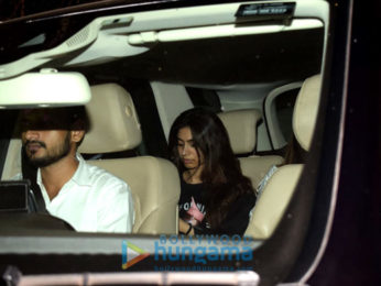 Janhvi Kapoor and Khushi Kapoor snapped at Arjun Kapoor's house