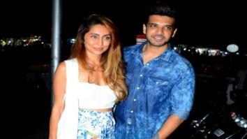 Karan Kundra and Anusha Dandekar spotted in Bandra