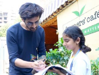 Kartik Aaryan and Adah Sharma spotted at Farmers Cafe in Bandra
