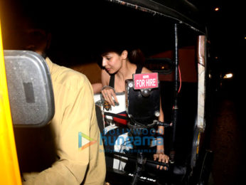 Malaika Arora snapped at Pali Village Cafe in Bandra
