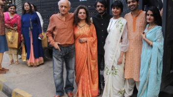 Mukesh Bhatt hosts a luncheon to celebrate daughter's engagement