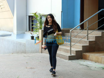 Nupur Sanon snapped after her dance class