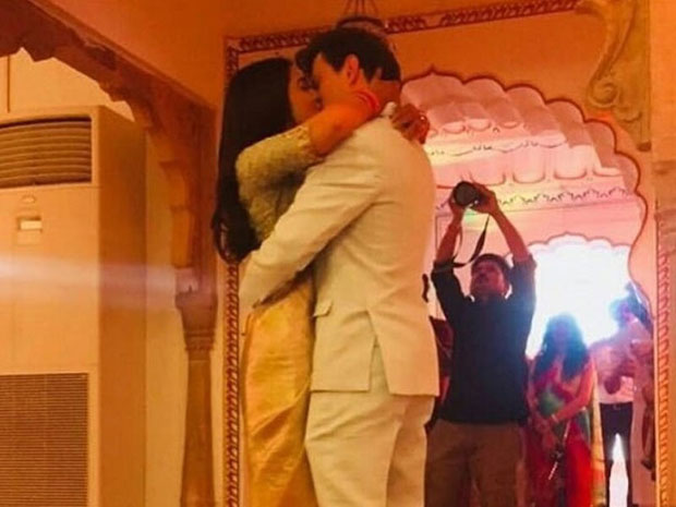 PIC: Shriya Saran and husband Andrei Koscheev kiss and it is breaking the internet
