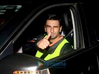 Ranveer Singh snapped at football ground