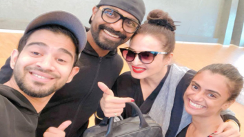 Remo D'Souza can't be happier about sharing this moment with diva Rekha