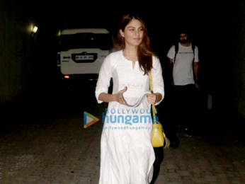 Rhea Chakraborty snapped outside the Bhatts office in Khar