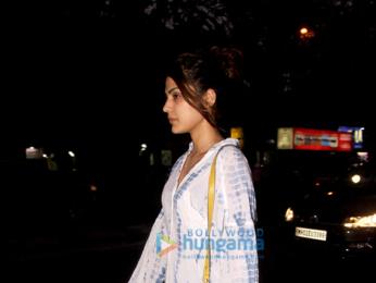 Rhea Chakraborty snapped with her boyfriend in Bandra