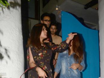 Richa Chadda snapped at Olive in Khar