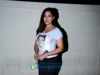 Richa Chadda snapped at PVR Juhu