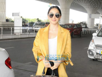 Sonal Chauhan, Boman Irani, Manish Malhotra and others snapped at the airport