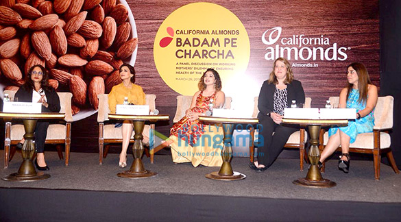 Sonali Bendre graces the panel discussion on working Mother's Dilemma Of Ensuring health of the family