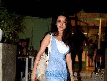 Soundarya Sharma spotted at The Kitchen Garden in Bandra