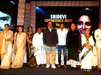 Subbarami Reddy hosts a condolence meet for the late Sridevi