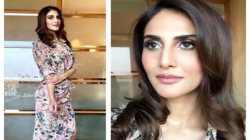 Vaaani Kapoor in Hemant and Nandita floral dress