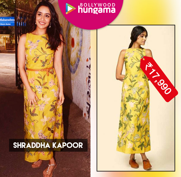 Weekly Celeb Splurges: Shraddha Kapoor in Anita Dongre Grassroots