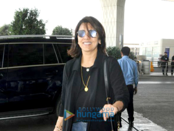 Zareen Khan, Rishi Kapoor and others snapped at the airport