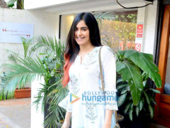 Adah Sharma spotted at a cafe