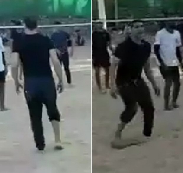 VIDEO: Akshay Kumar plays beach volley ball with locals