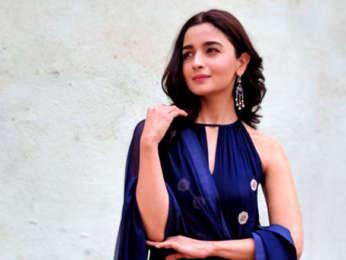 Alia Bhatt snapped at Filmcity promoting Raazi