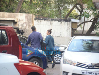 Alia Bhatt snapped post a gym session in Bandra
