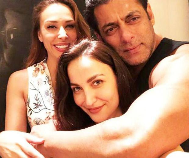 Awesome Threesome! Salman Khan-Elli Avram share a warm hug, Iulia Vantur looks on (see pic)