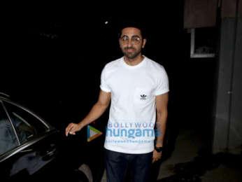 Ayushmann Khurrana spotted in Juhu