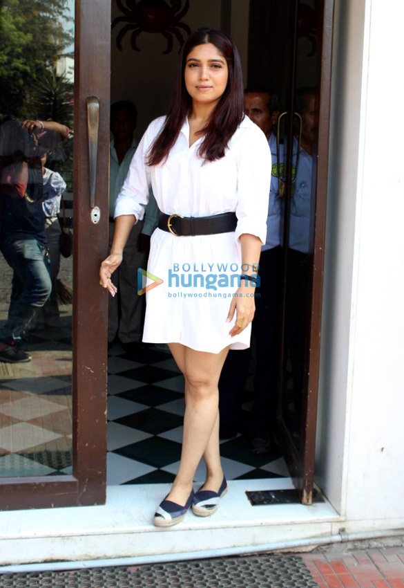 Bhumi Pednekar and Khushi Kapoor spotted at Bastian