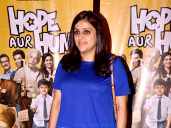 Celebs grace the trailer launch of the film Hope Aur Hum
